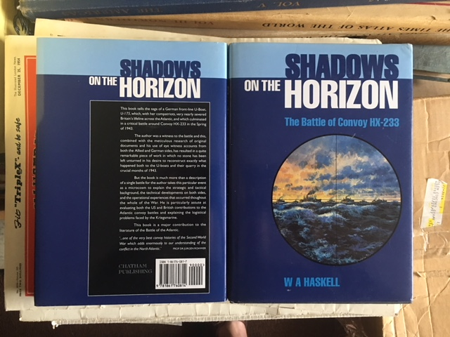 Image for Shadows on the Horizon : The Battle of Convoy HX-233.  iFirst Edition n dustjacket