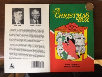 Image for A Christmas Box : Holiday Stories from Newfoundland and Labrador.  Third Printing