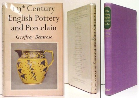 Image for Nineteenth Century English Pottery and Porcelain. UK in dj.