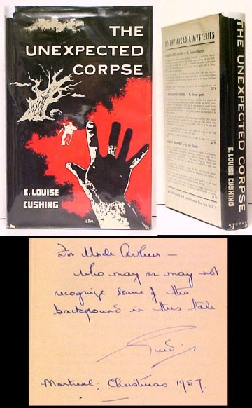 Image for Unexpected Corpse.  First Edition in dustjacket, Signed