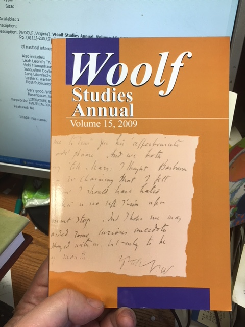 Image for Woolf Studies Annual, Volume 15, 2009