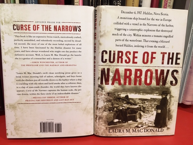 Image for Curse of the Narrows.  First American Edition in dustjacket.
