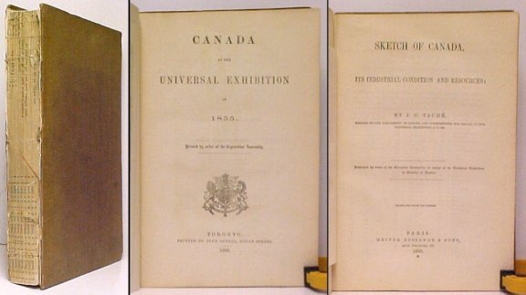 Image for Canada at the Universal Exhibition of 1855