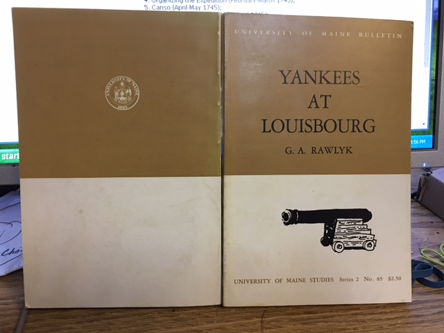Image for Yankees at Louisbourg.  First Edition.