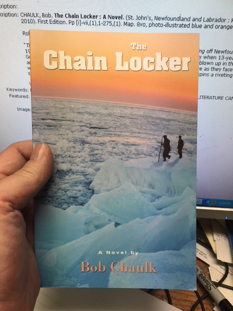 Image for The Chain Locker : A Novel.  First Edition