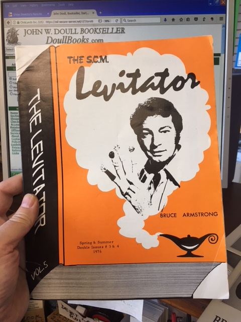 Image for The S.C.M. Levitator. Vol. 5, Double Issue # 3 & 4, Spring & Summer, 1976