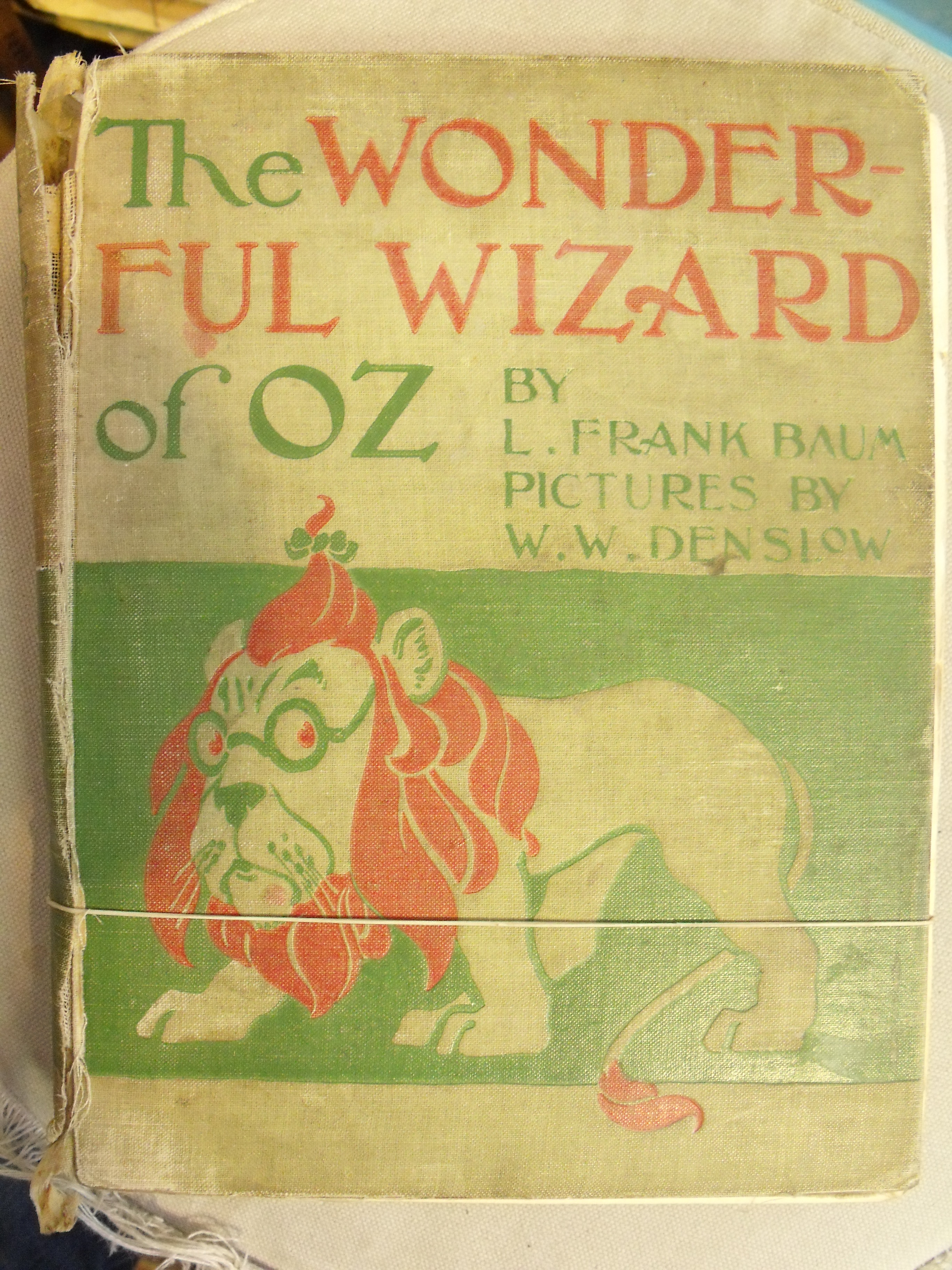 Image for Wonderful Wizard of Oz. With Pictures by W.W. Denslow.  First State of the First Edition.